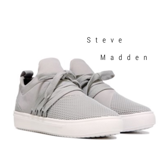 4e2f82cd0df Steve Madden Lancer sneaker in grey